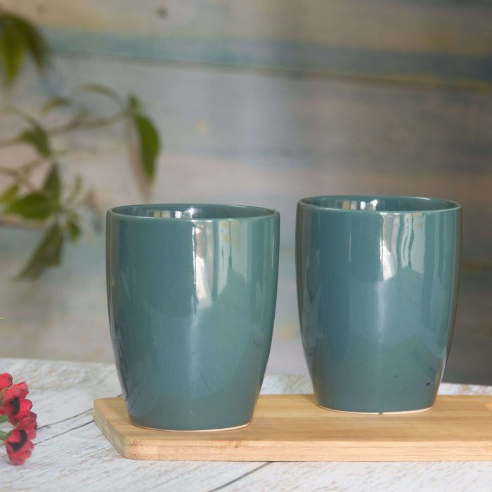 Ceramic Kullad Set of 2 /Coffee Mug Set - artystagallery