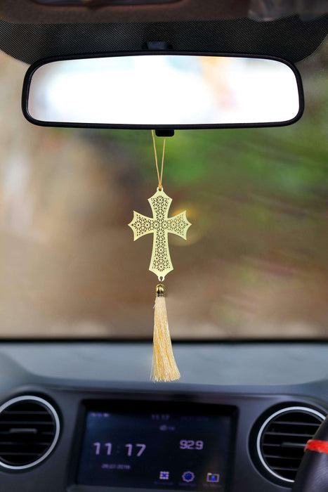 Cross Christian Hanging Accessories for Car - artystagallery