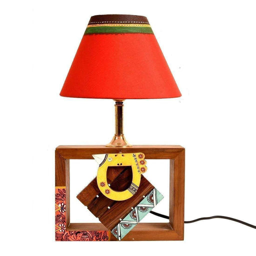 Handcrafted Bedside Table Lamp For Bedroom| Decorative Table Lamp For Living Room - artystagallery