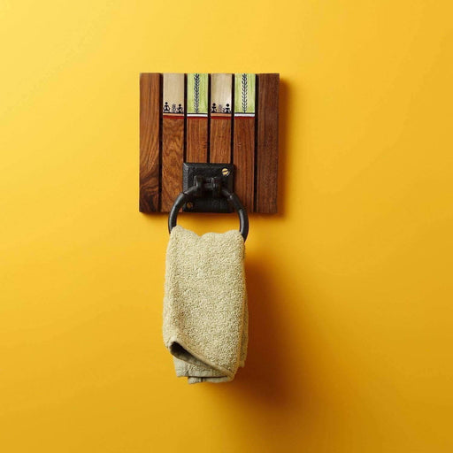 Handcrafted Wooden Towel Hanger|Towel Holder|Towel Hanger kitchen/Living Room - artystagallery