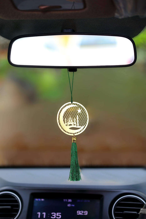 Islamic Muslim Crescent Hanging Accessories for Car - artystagallery