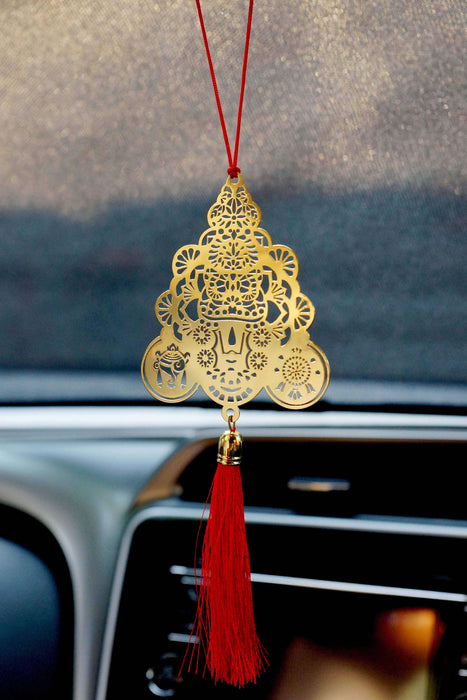 Tirupathi Balaji Lord Venketeshwara Hanging Accessories for Car - artystagallery