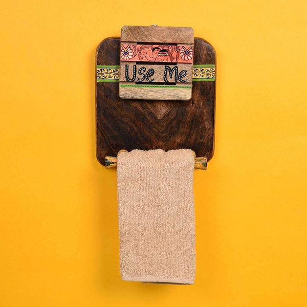 Decorative Wall Mount Paper Towel Holder from cdn.shopify.com
