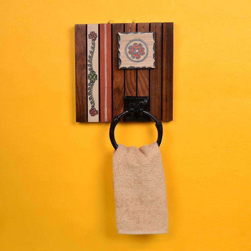 Wall Mounted Towel Holder For Kitchen| Bathroom Towel Holder | Single Towel Hanger - artystagallery