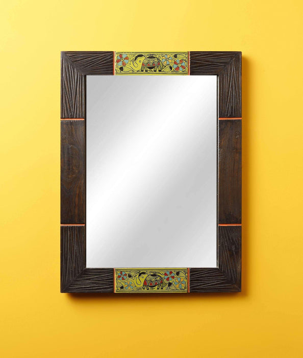 Wooden Wall Mirror/Dressing Mirror Decorative Mirrors for Wall Art Console Mirror - artystagallery