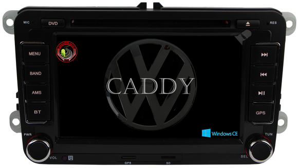 Autoradio GPS VOLKSWAGEN Caddy 2004-2015 Version Windows CE