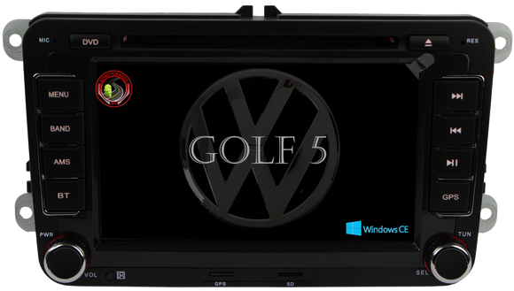 Autoradio GPS Windows CE VOLKSWAGEN Golf 5 2003-2008