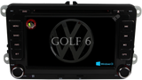 Autoradio GPS VOLKSWAGEN Golf 6 Août 2008-2016 Version Windows CE