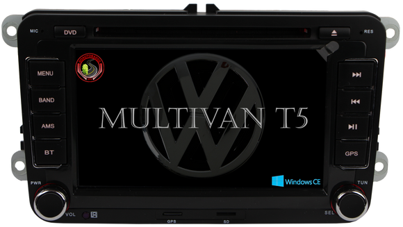 Autoradio GPS VOLKSWAGEN Multivan T5 2009-2015 Version Windows CE