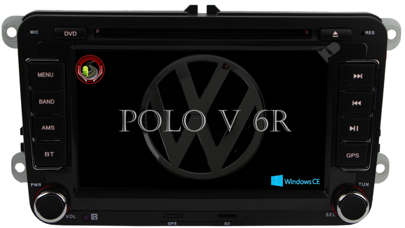 Autoradio GPS Windows CE VOLKSWAGEN Polo 5 2009-2013
