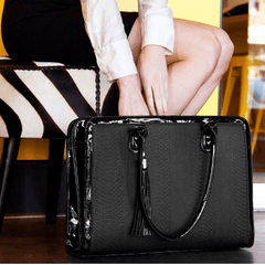 black laptop bag for women