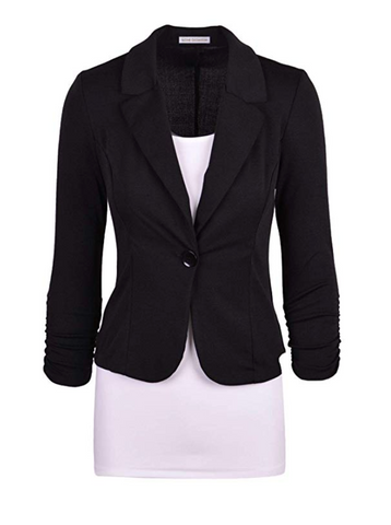 Blazer and Slim Skirt