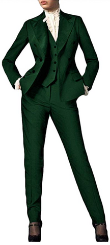green preppy suit