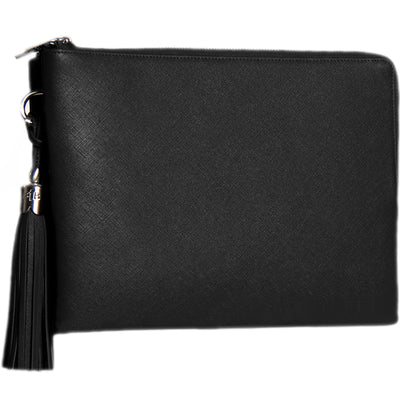 Lucy 10 Inch Crossbody iPad Shoulder Bag – Black