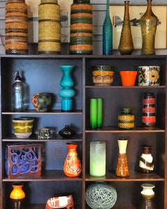 Vintage ceramics and glass
