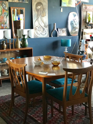 Retro GPlan Teak dining table chairs