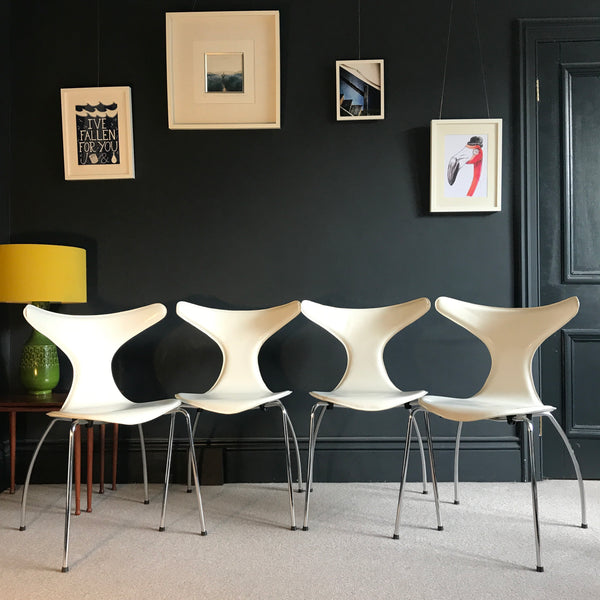 Danform Dolphin chairs • Danish • mid-century design