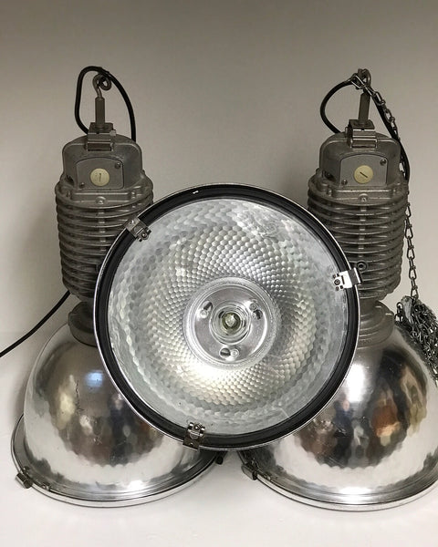 Large industrial Zumtobel lights