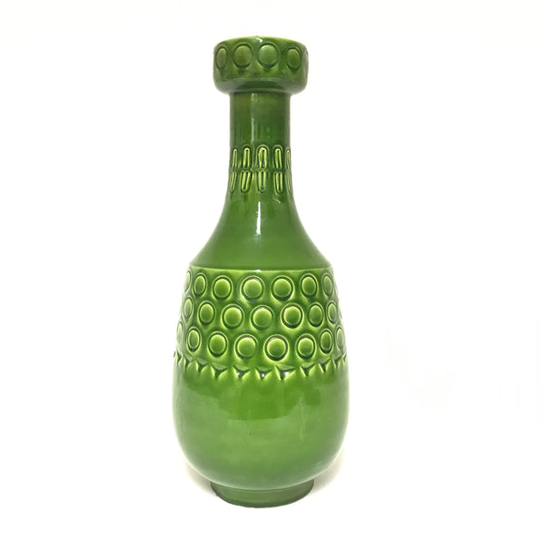 Alvino Bagni green ceramic lamp