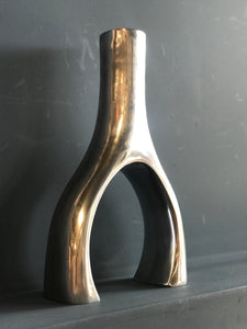 Modernist wishbone vase
