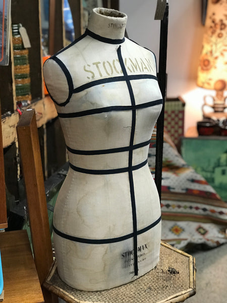 Vintage female Stockman Mannequin Tailors Dummy 30s 40s Paris London