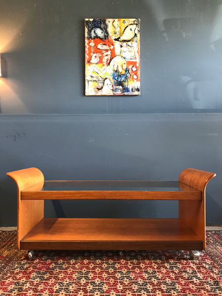 Retro mid-century GPlan Tulip coffee table
