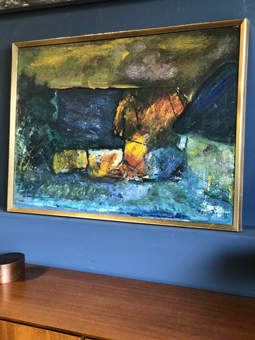 Mid century Danish painting