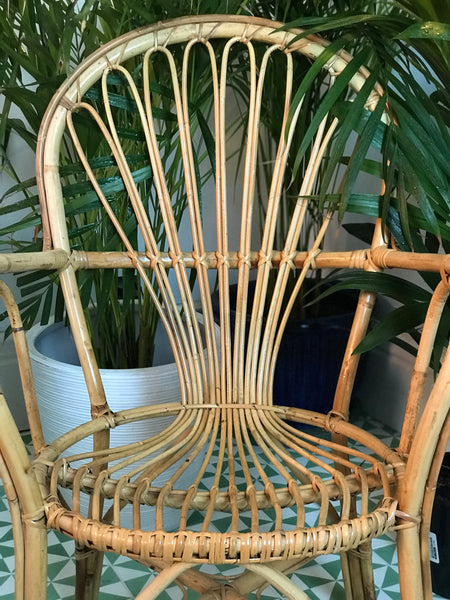 Bamboo occasional chair