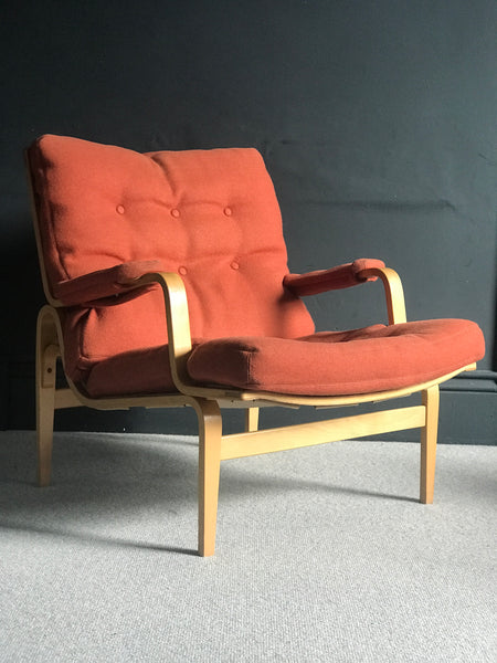 Ingrid lounge chair by Bruno Mathsson for Dux