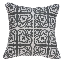 Aantra Transitional Grey Pillow Cover