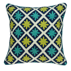 Parkland Collection Handmade Decorative Traditional Multicolored Pillow Cover PILA11030C