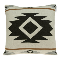 Parkland Collection Decorative Southwest Tan Pillow Cover With Poly Insert PILB11036P
