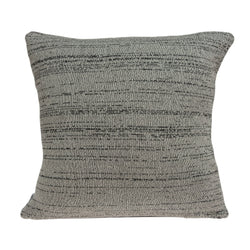 Parkland Collection Decorative Southwest Grey Pillow Cover With Poly Insert PILB11038P