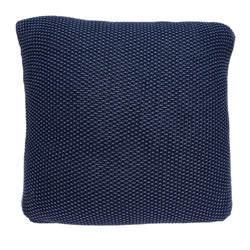 Parkland Collection Decorative Transitional Blue Pillow Cover With Poly Insert PILB11069P