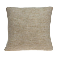 Parkland Collection Decorative Transitional Tan Pillow Cover With Poly Insert PILB11072P