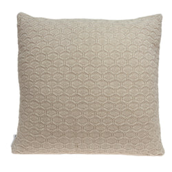 Parkland Collection Decorative Transitional Tan Pillow Cover With Poly Insert PILB11073P