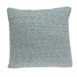 Parkland Collection Decorative Transitional Blue Pillow Cover With Poly Insert PILB11076P