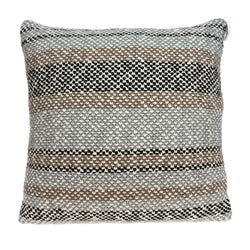 Parkland Collection Decorative Transitional Tan Pillow Cover With Poly Insert PILB11078P