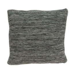 Parkland Collection Decorative Transitional Grey Pillow Cover With Poly Insert PILB11083P