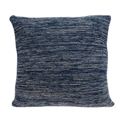 Parkland Collection Decorative Transitional Blue Pillow Cover With Poly Insert PILB11084P