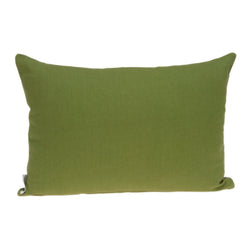 Parkland Collection Decorative Tropical Green Pillow Cover With Poly Insert PILD11097P