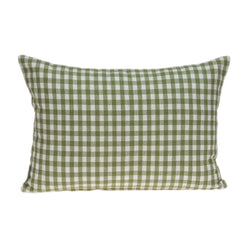 Parkland Collection Decorative Tropical Green Pillow Cover With Poly Insert PILD11098P