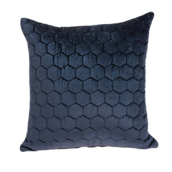 Parkland Collection Decorative Transitional Blue Pillow Cover PILD11116C