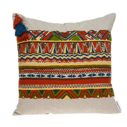 Parkland Collection Decorative Bohemian Multicolor Pillow Cover PILD11124C