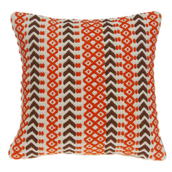 Parkland Collection Decorative Bohemian Multicolor Pillow Cover PILD11125C