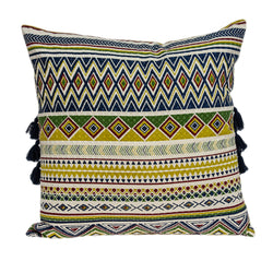 Parkland Collection Decorative Bohemian Multicolor Pillow Cover PILD11127C