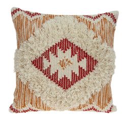 Parkland Collection Decorative Bohemian Multicolor Pillow Cover PILD11129C