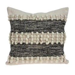 Parkland Collection Decorative Bohemian Beige Pillow Cover PILD11130C