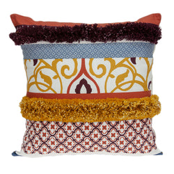 Parkland Collection Decorative Bohemian Multicolor Pillow Cover PILD11131C