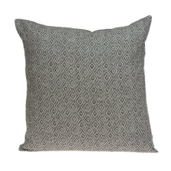 Mudra Transitional Grey Pillow Cover